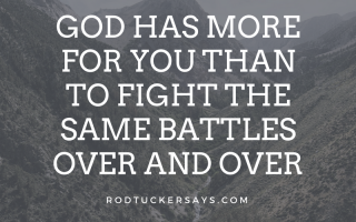 Stop Fighting the Same Battles
